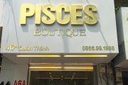 Thiết kế và thi công biển hiệu nội thất Pisces Quán Thánh