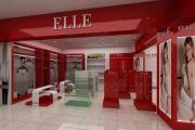 Thiết kế nội thất showroom thời trang Elle