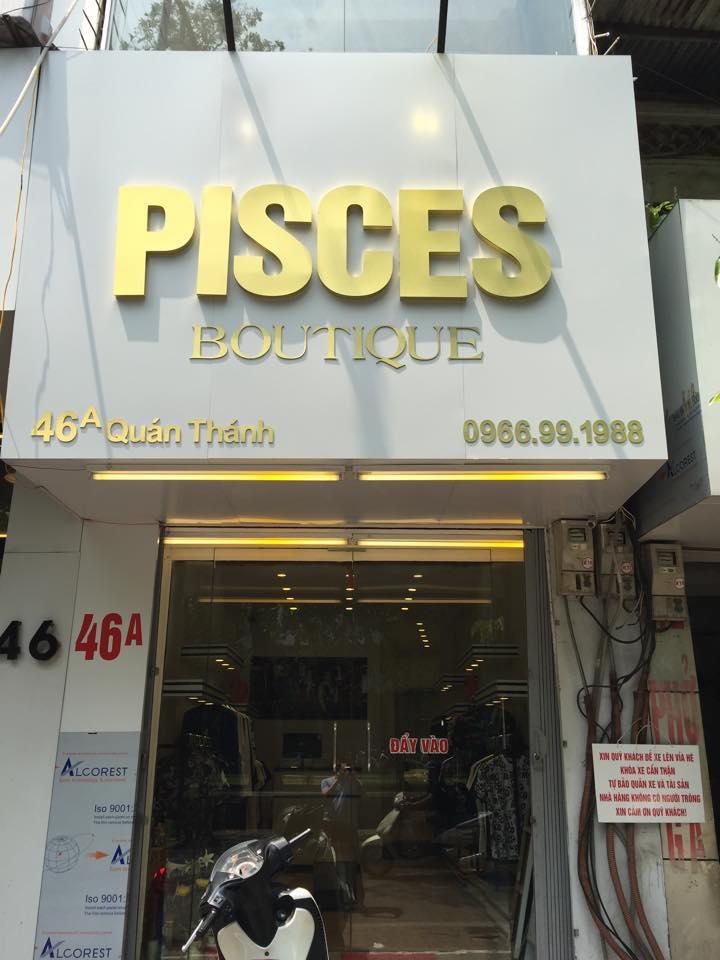 Showroom thời trang Pisces Quán Thánh